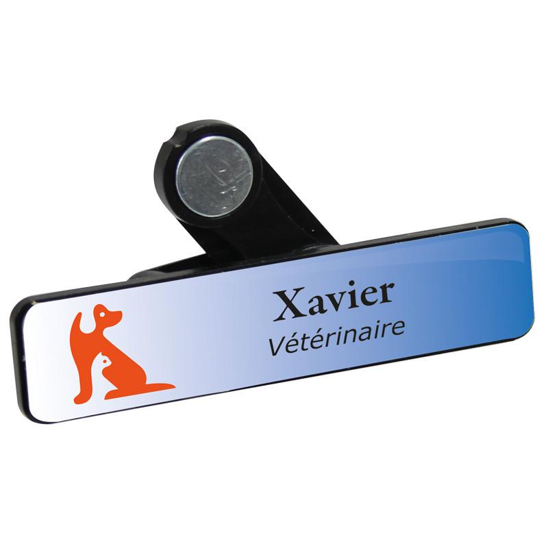 Badge vétérinaire
