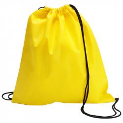 Sac a dos en polypro non tissé - coloris jaune