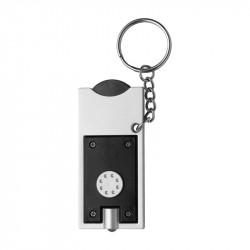 porte-clés torche noir