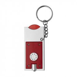 porte-clés torche rouge
