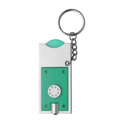 porte-clés torche vert