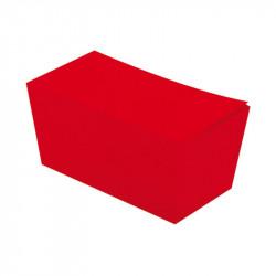 Ballotin rouge personnalisable intérieur or à bas prix