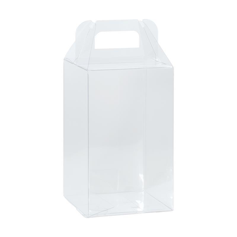Boîte oeuf PVC transparent alimentaire avec poignées à tarif réduit