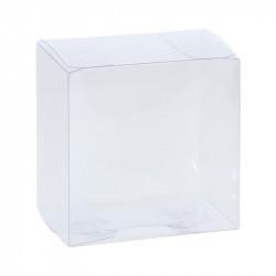 Boîte poule PVC transparent alimentaire personnalisable à tarif réduit