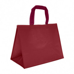 Sac cabas isotherme bordeaux - photo 1