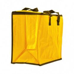 sac glacière isotherme jaune