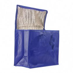 sac glacière grand format isotherme bleu - photo 2