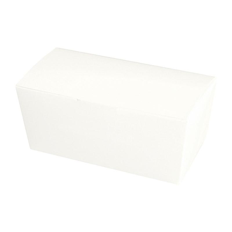 Ballotin blanc personnalisable, intérieur or à bas prix