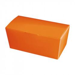 Ballotin orange personnalisable intérieur or à bas prix