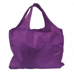 Sac réutilisable en polyester violet
