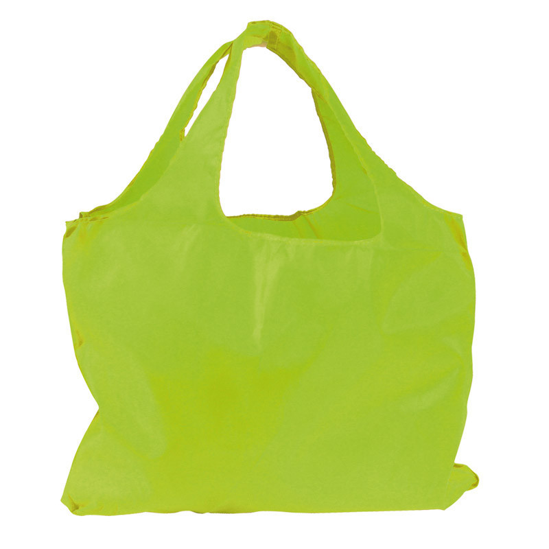 sac réutilisable en polyester vert anis