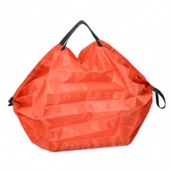 Sac pliable en polyester orange