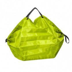 sac pliable en polyester vert