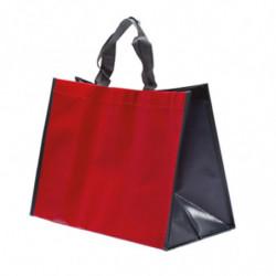sac en polypro non tissé rouge/gris