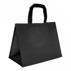 sac en polypro tissé noir