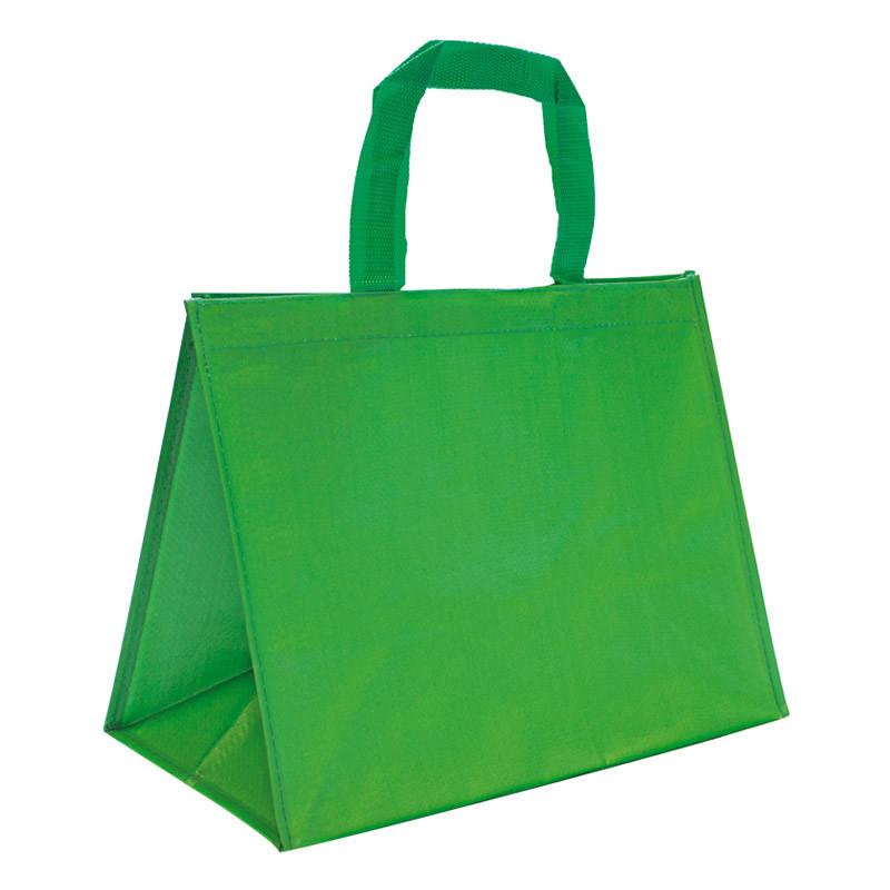 sac en polypro tissé vert