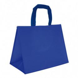 sac en polypro tissé bleu