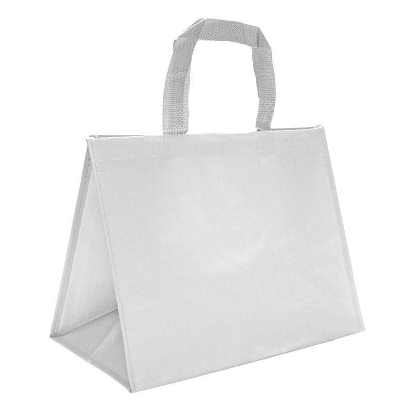 sac en polypro tissé blanc
