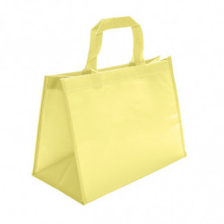 sac en polypro non tissé jaune - photo 1