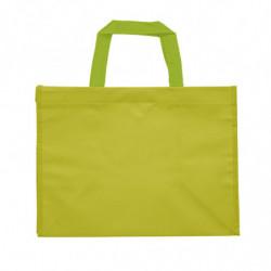 sac en polypro non tissé vert anis - photo 2