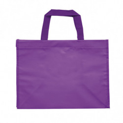 sac en polypro non tissé violet -  photo 2