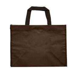 sac en polypro non tissé chocolat - photo 2