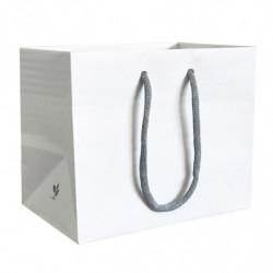 sac kraft blanc recyclé T1 avec motif intérieur