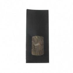 sac kraft noir à fenêtre
