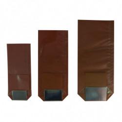 Sachet polypro fond carton chocolat
