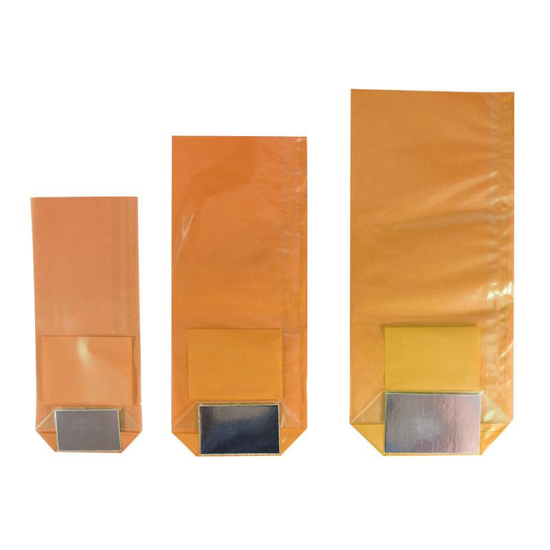 sachet polypro fond carton orange