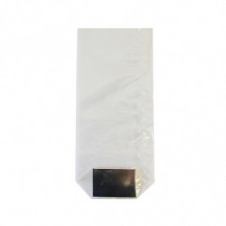 Sachet en polypro neutre avec fond carton