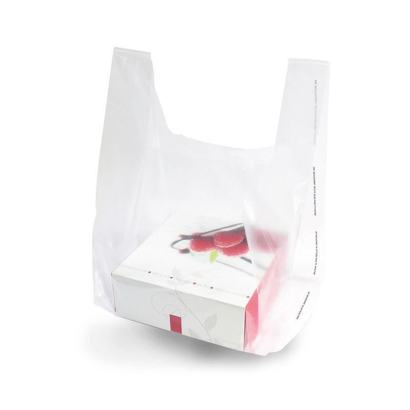 sac transparent spécial boite pâtissière