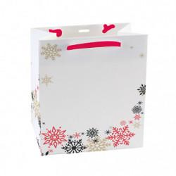 sac pelliculé mat avec motif 'mélodie hivernale' T1