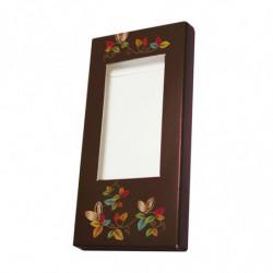 Étui tablette à motif 'Cabosse' avec fenêtre transparente