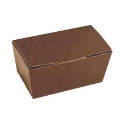 Ballotin couleur chocolat