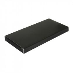 étui tablette uni noir