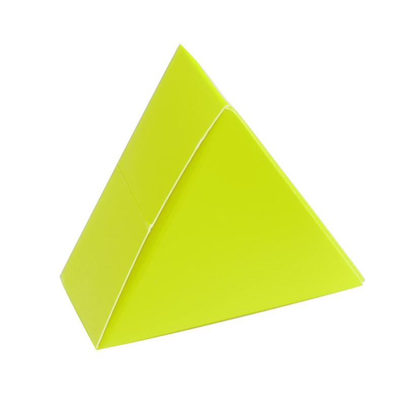 Boite triangle verte