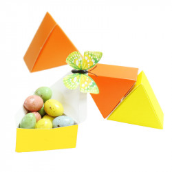 Ensemble de boites triangles