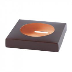 Socle Œuf Bicolor Chocolat/Orange