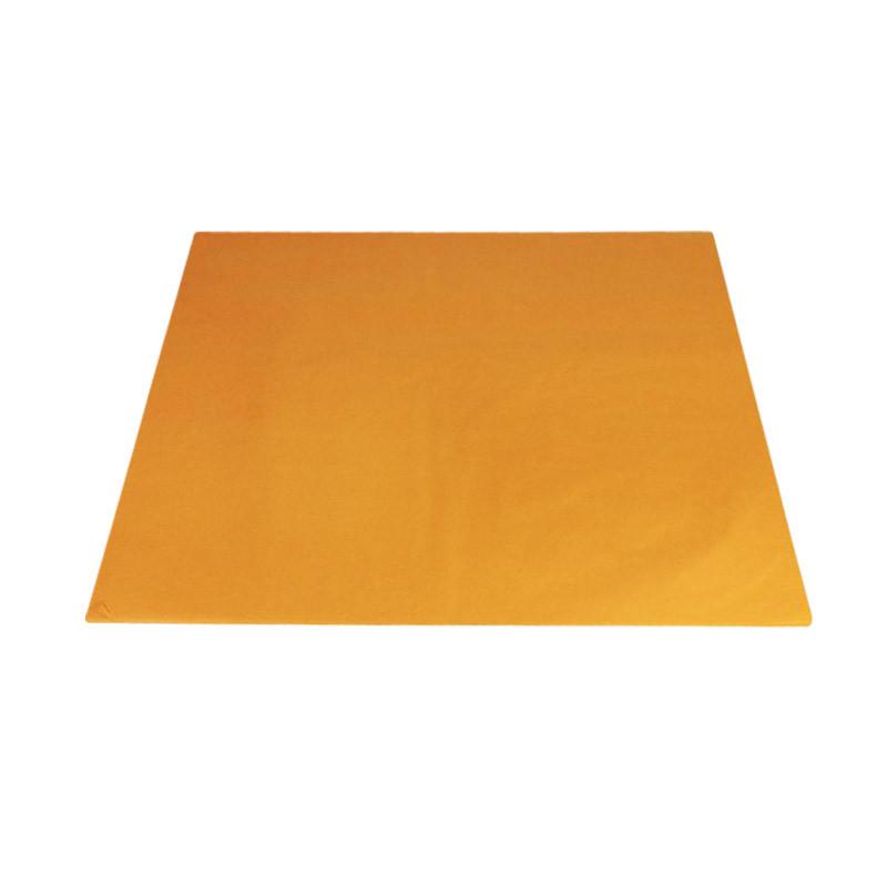 Papier mousseline orange