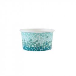 Pot carton bleu T1