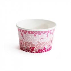 Petit pot carton rose