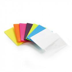 Gamme de porte carte rigide de couleur