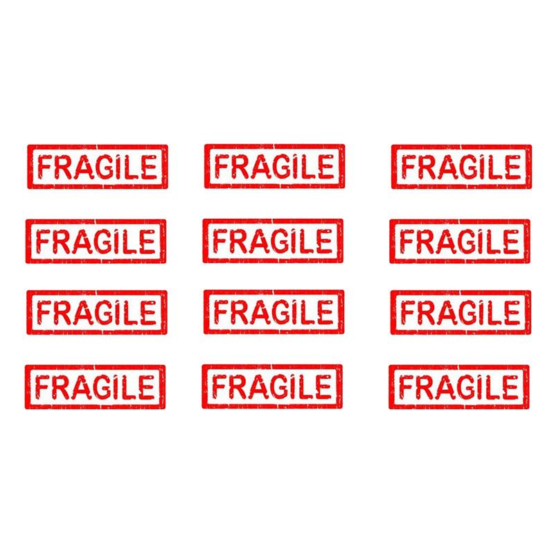 Étiquette pour produits fragiles.